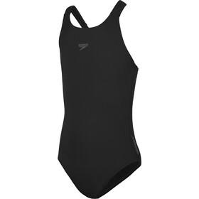 speedo Essentials Endurance+ Medalist Swimsuit Girls black